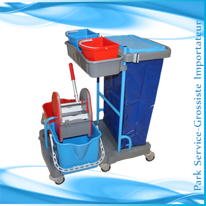 Chariot manutention et lavage + Presse