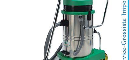 Aspirateur 2 moteurs eau et poussière 60L