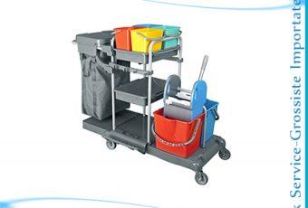 Chariot 6 Seaux+presse+2 paniers+sac